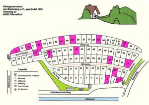 Kunstmeile Gerresheim zu Gast Am Balderberg Lageplan